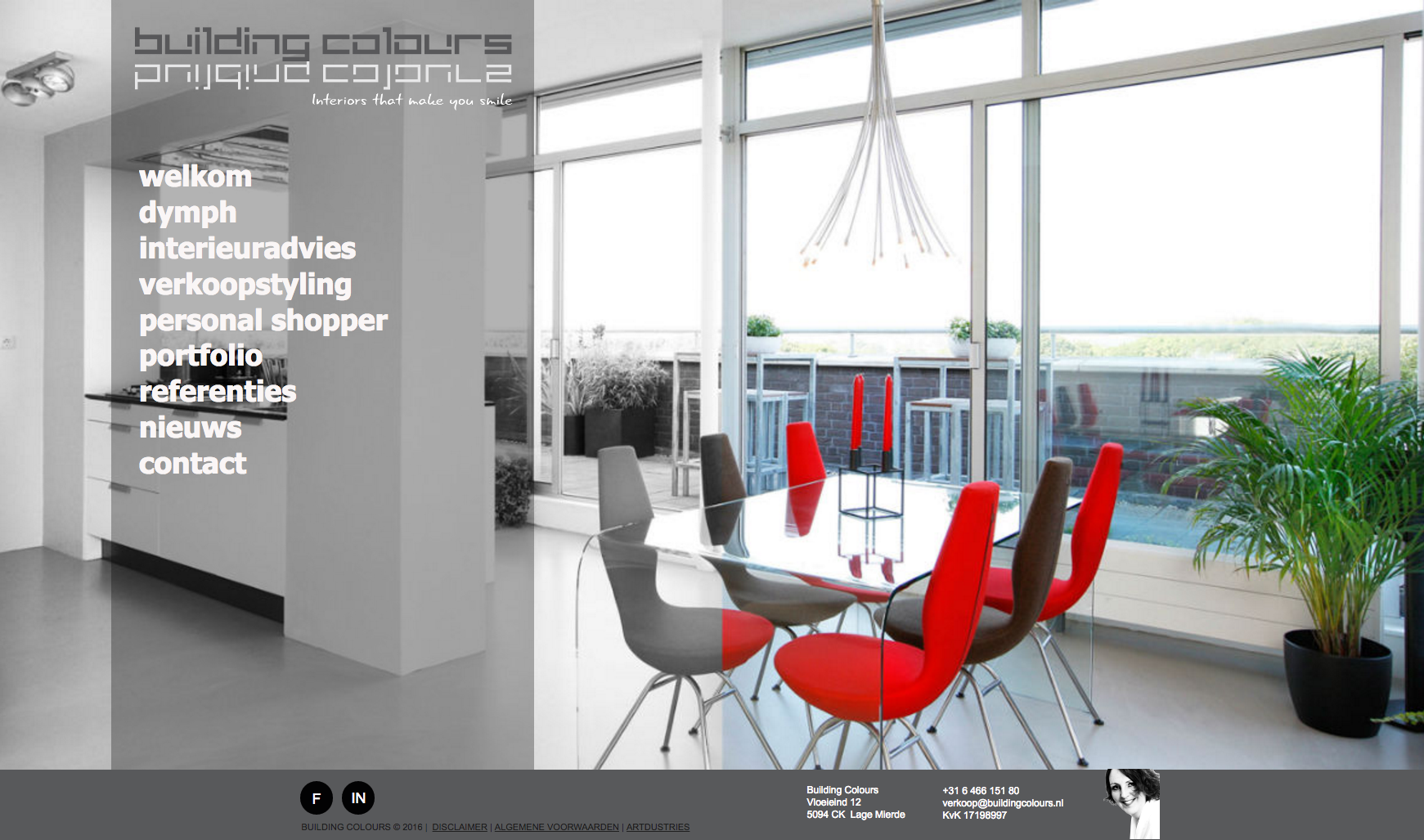 Website Building Colours Brabant